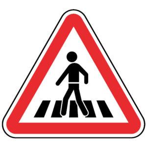 A16a-Passagem-de-peoes-sinalizacao-vertical-perigo