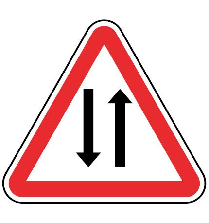 A25-Transito-nos-dois-sentidos-sinalizacao-vertical-perigo