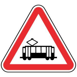 A28-Interseccao-com-via-onde-circulam-veiculos-sobre-carris-sinalizacao-vertical-perigo