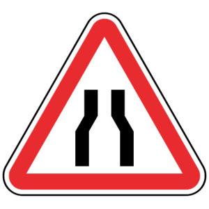 A4a-Passagem-estreita-sinalizacao-vertical-perigo
