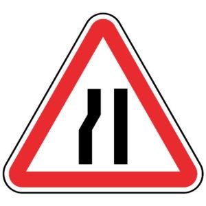 A4b-Passagem-estreita-sinalizacao-vertical-perigo