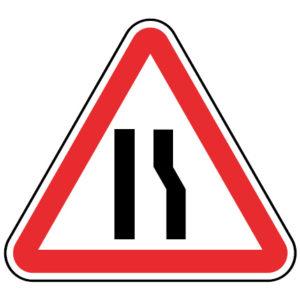 A4c-Passagem-estreita-sinalizacao-vertical-perigo