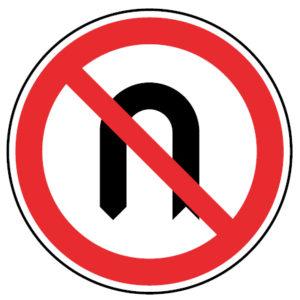 C12-Proibicao-de-inversao-do-sentido-da-marcha-sinalizacao-vertical-regulamentacao-proibicao