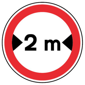 C8-Transito-proibido-a-veiculos-de-largura-superior-a-metros-sinalizacao-vertical-regulamentacao-proibicao