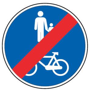 D13e-Fim-da-pista-obrigatoria-para-peoes-e-velocipedes-sinalizacao-vertical-regulamentacao-obrigacao