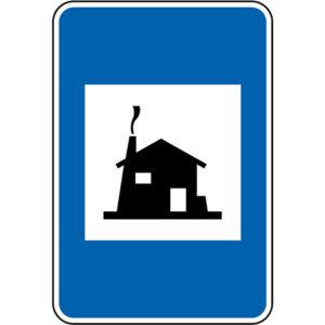 H16a-Pousada-ou-estalagem-sinalizacao-vertical-indicacao-informacao